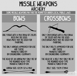 missile weapons archery