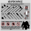 weapon damage